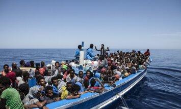 Paadipõgenikud Vahemerel