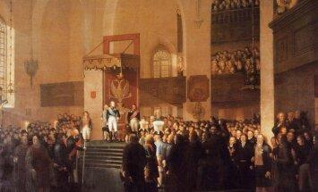 Vene keiser avab Porvoos alamate seisuste ühiskoosoleku, millega kinnitati Soome ühinemine tsaaririigi koosseisu.