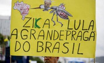 Rio de Janeiro Zika viiruse meeleavaldus