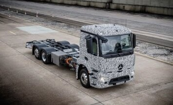 Daimler esitles elektriveoauto Urban eTruck prototüüpi