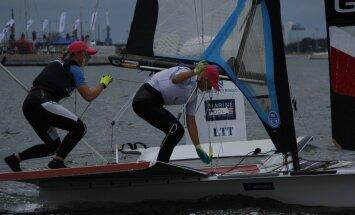 Tammiste ja Sepp said 49erFX MM-il 35. koha