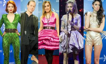 TOP6 šefimad eestilaululised: kas pööraseim kostüüm kuulub vatibaleriinile, rohelisele haldjale, kosmoseprintsessile või kivikuningale?