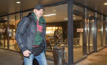 Lokomotiv Kubani korvpallimeeskond saabus Tallinna lennujaama