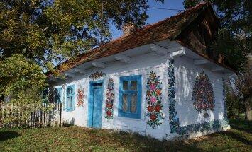 VIDEO: Peidus pärl Poolas - lilleliseks maalitud küla