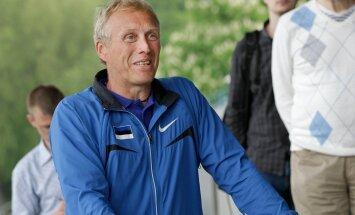 Eesti Kergejõustikuliidu pressikonverents Kadrioru staadionil