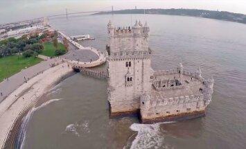 ВИДЕО: Прекрасный Лиссабон с высоты птичьего полета