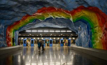 Музей под землей: 12 станций метро Стокгольма