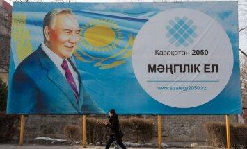 1989. aastast Kasahstani juhtinud Nazarbajev: saan tuhandeid kirju, milles mul palutakse uuesti presidendiks kandideerida