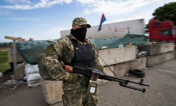 Ukraina separatistide sõdur