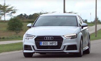 Motorsi proovisõit: Audi A3 Sedan
