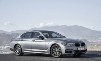 Vaata ja imetle! Selline näeb välja BMW viies seeria, mida peagi tellida saab!