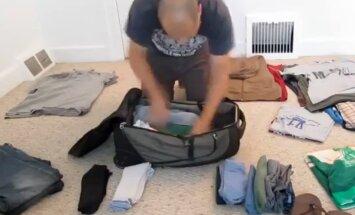 VIDEO: Selleks, et reisikott mahutaks, tuleb see pakkida õiges järjekorras ja õigete nippidega