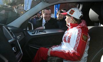 Medvedev ja 15-aastane Lipnitskaja