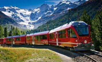 Новый панорамный жд-маршрут в Швейцарии