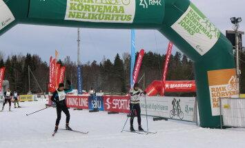 RMK Kõrvemaa Suusamaratoni avatud raja sõidul lõi kaasa mitusada harrastajat