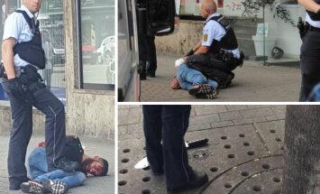 FOTOD: Saksamaal ründas Süüria varjupaigataotleja tänaval jalutanud inimesi matšeetega ja tappis raseda naise