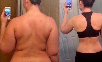 Kas see on tõesti nii lihtne? Naine muutis elustiilis vaid üht asja ja võttis 30 kilo alla