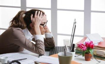 Pärast tööpäeva lõppu saabuvad e-kirjad teevad töötajad haigeks