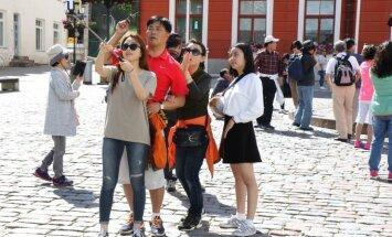 Число туристов в Таллинне растет