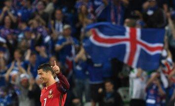 Esmalt rõõmustas Island üksi, kui Portugaliga viiki mängis, siis üheskoos Cristiano Ronaldoga, sest mõlemad riigid pääsesid EM-i 1/16-finaali.