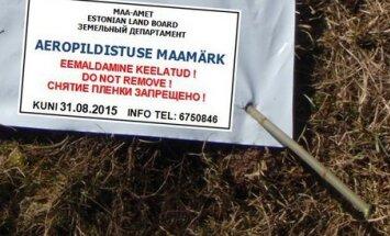 Maa-amet valmistub aeropildistamiseks - maastik tähistatakse markeeringutega, mida ei tohi puutuda ega rikkuda