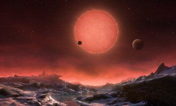 Uued maailmad: belglased teatasid eile, et on avastanud kolm eluks eriti hästi sobivat planeeti