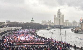 Moskvas toimunud Nemtsovi mälestusmarsile kogunes kümneid tuhandeid inimesi
