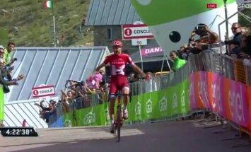 OTSEBLOGI: LIHTSALT VÕIMAS! Rein Taaramäe võitis Itaalia velotuuri ränkraske 20. etapi!