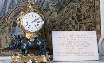 В Эрмитаже запустили остановленные в ночь революции часы