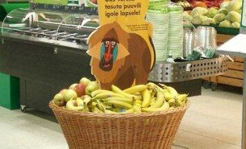 Магазины Prisma бесплатно предлагают детям фрукты