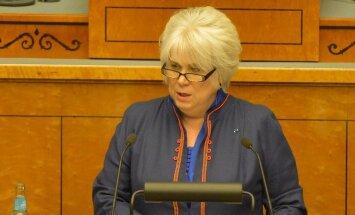 ФОТО DELFI: В Рийгикогу обсуждают внешнюю политику Эстонии