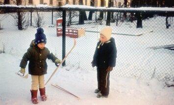 30 aastat tagasi tehtud pilt: karupüksid ja kilepüksid.