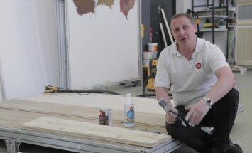 VIDEO: Nutikas nipp, kuidas enne lakkimist kaitsta puitpõrandat hilisema kolletumise eest