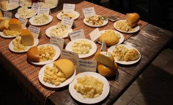 Tead, mitu erinevat juustusorti Eesti talumeiereides tehakse?