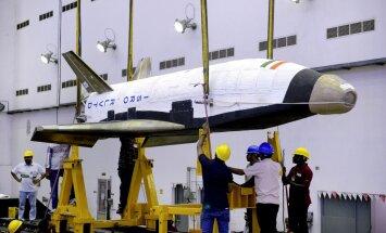 Fotod: vaata kosmoselennukit, mille India üleeile taevasse saatis