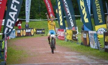 Caspar Austa võidab Rakke rattamaratoni