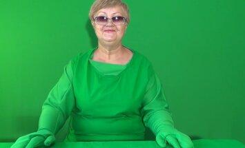 Tore VIDEO: iseõppinud vene vanaema teeb rohelisel taustal filmimaagiat
