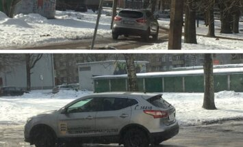 FOTOD: Lugeja küsib, mupo vastab – miks sõidavad ametnikud autoga kõnniteel?