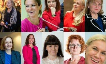 Riigikogu2015 - top 10 naised