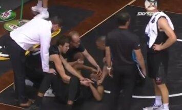 VIDEO: Öökima ajav intsident: USA korvpalluril hüppas mängu ajal silm peast välja!