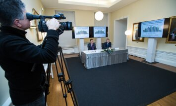 Taavi Rõivase kokku kutsutud töögrupp tutvustas eile Eesti majandusarengut kiirendavaid tegevusi ja ideid.