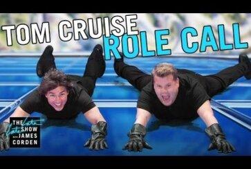 VIDEO: Tom Cruise ja James Corden elavad 9 minutiga läbi Cruise'i senise filmikarjääri