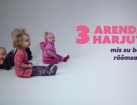NIPINURK: Kolm arendavat harjutust, mis sinu beebi alati rõõmsaks teevad!