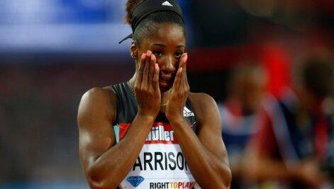 Kendra Harrison reageerib maailmarekordile