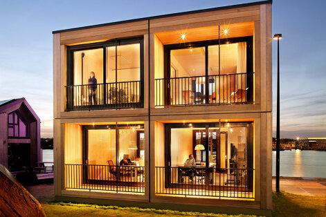 Pagulasmajade arhitektuurivõistluse võidutööd — kas sina elaksid sellises?
