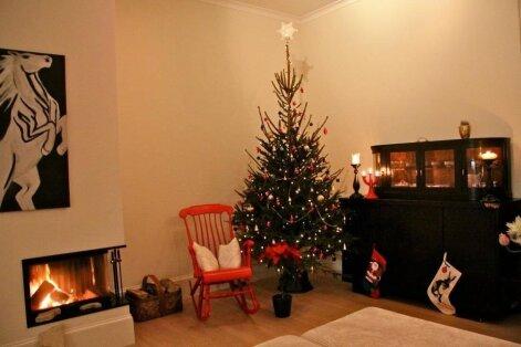 """""""Pühad minu kodus"""": Klassikalised jõuluvärvid ja palju hubast valgust"""