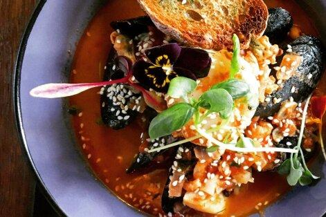 Pärnu Kohvikute Nädala külaliste lemmikud olid mereannid ja kama magustoit