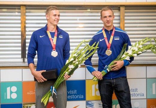 FOTOD | Edukalt U20 EM-il osalenud kergejõustiklased jõudsid tagasi Eesti