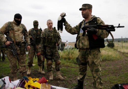 Separatistide juht: lennuõnnetus on lavastatud