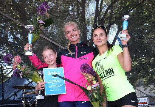 FOTOD | Maijooksu võitis Liina Tšernov, alles 13-aastane neiu saavutas teise koha